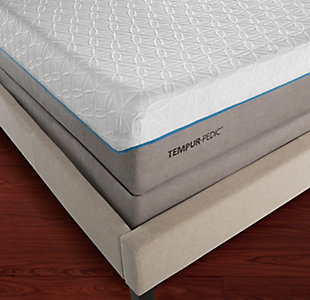 Tempur Cloud Supreme Breeze Queen Mattress, White, rollover
