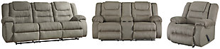 McCade Sofa, Loveseat and Recliner, , rollover