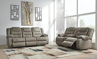 McCade Reclining Loveseat with Console, , large