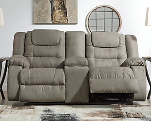 McCade Reclining Loveseat with Console, , rollover