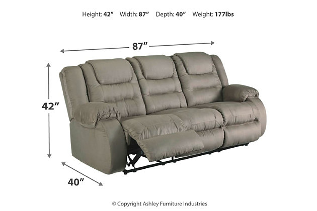 McCade Reclining Sofa, , large