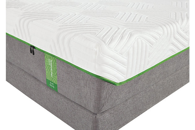 Tempur Flex Elite Queen Mattress, White/Gray, large