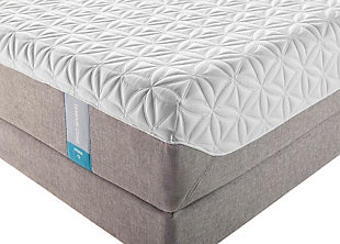 Tempur Cloud Prima Queen Mattress, White, rollover