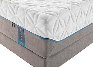 Tempur Cloud Luxe Queen Mattress, White/Gray, rollover