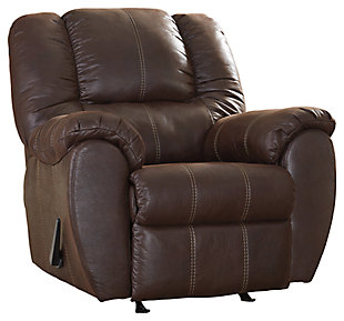 McGann Recliner, Walnut, large