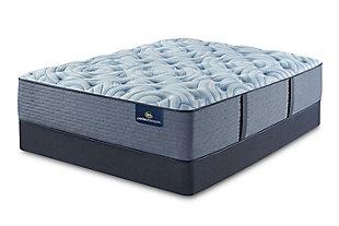 Perfect Sleeper Winnigpeg Plush Twin Mattress, Multi, rollover