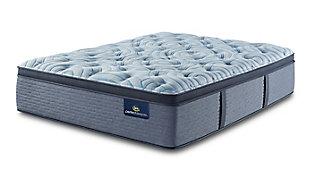 Perfect Sleeper Winnigpeg Plush Pillow Top Twin Mattress, Multi, large