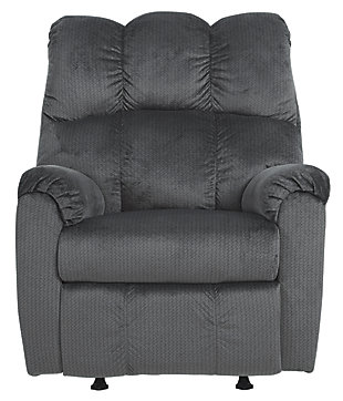 Foxfield Recliner, Charcoal, large