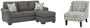 Kexlor Sofa Chaise and Chair, , large
