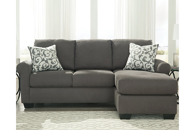 Ashley furniture sofa chaise for Ashley circa taupe sofa chaise