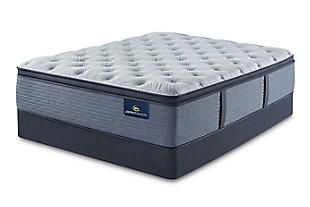 Perfect Sleeper Dunwoody Firm Pillow Top Twin Mattress, Multi, rollover