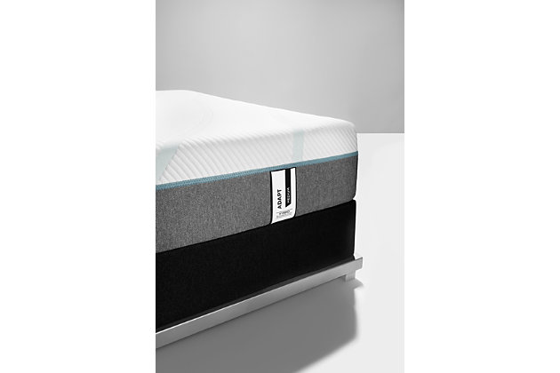 Tempur Adapt Medium Hybrid Full Mattress, White, large