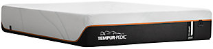Tempur ProAdapt Firm Twin Mattress, White/Black, rollover