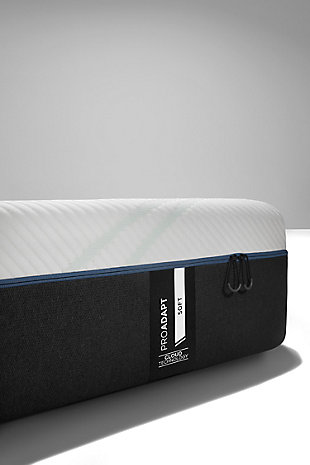 Tempur ProAdapt Soft King Mattress, White/Gray, large