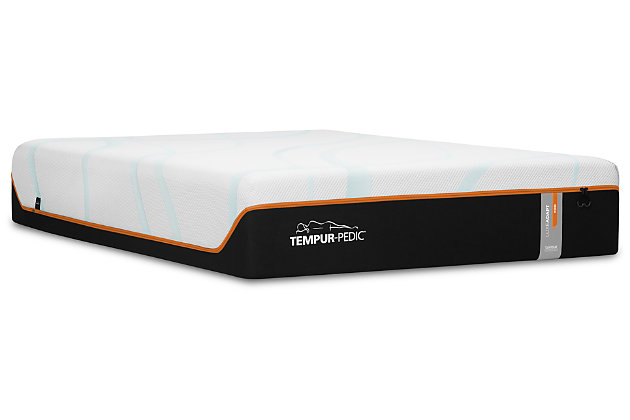 TEMPUR-LUXEADAPT™ Firm Twin XL Mattress, Charcoal/White, large