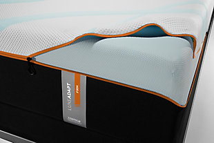 TEMPUR-LUXEADAPT™ Firm Queen Mattress, Charcoal/White, large