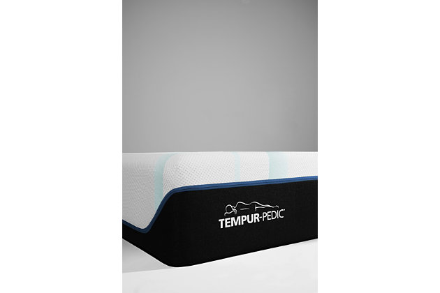 TEMPUR-LUXEADAPT™ Soft King Mattress, Charcoal/White, large
