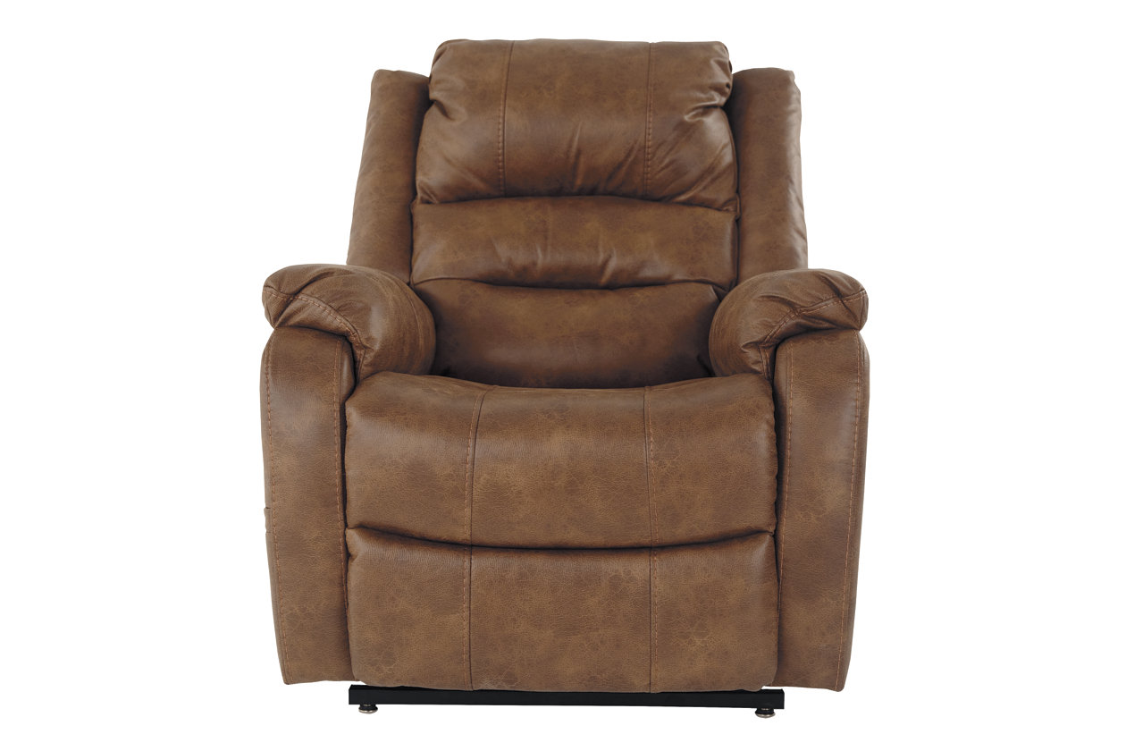Black Leather Accent Chairs For Bariatric.Yandel Power Lift Recliner Ashley Furniture Homestore