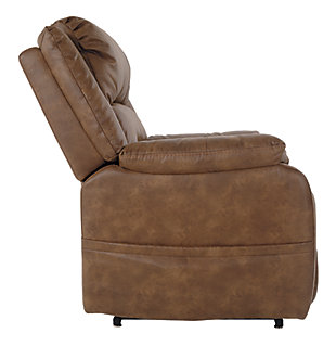 Yandel Power Lift Recliner, Saddle, large