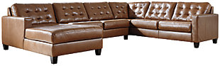 Baskove 4-Piece Sectional with Chaise, , large