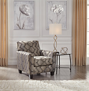 Torcello Chair, Gunmetal, large