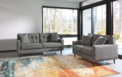 Loveseat Charcoal Sofa Product Photo 817