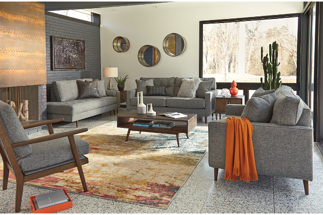 2 Accent Chairs And A Tv And Sectional.Zardoni Accent Chair Ashley Furniture Homestore