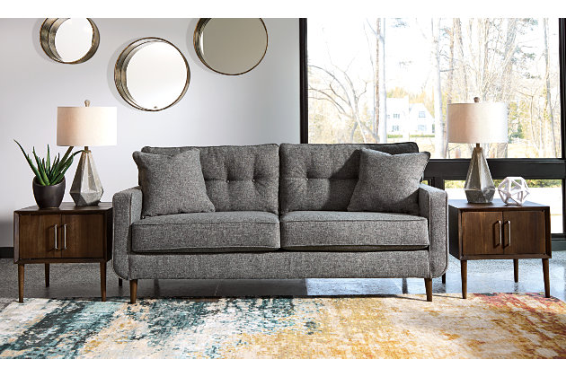 Zardoni Sofa and Loveseat with Coffee Table and 2 End Tables, , large