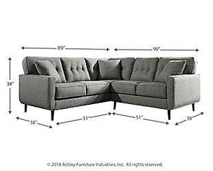 Zardoni 2-Piece Sectional, , large
