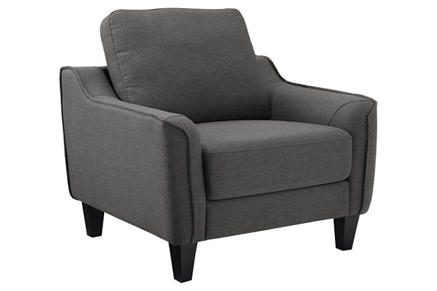Jarreau Chair, Gray, large