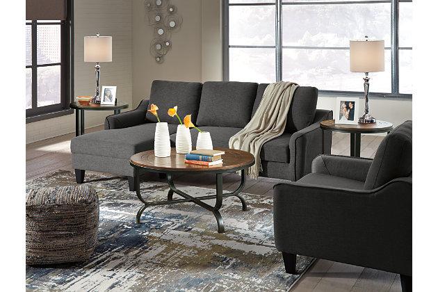Jarreau Chair, Gray, large