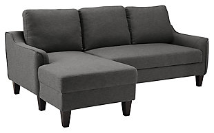 Jarreau Sofa Chaise Sleeper Gray Large