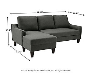 Jarreau Sofa Chaise Sleeper Ashley Homestore