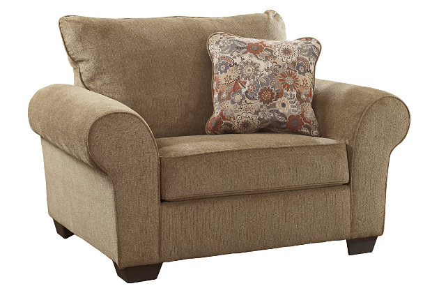 large brown chair with pillow for your living room designs