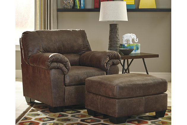 Bladen Chair Ottoman, Coffee, large