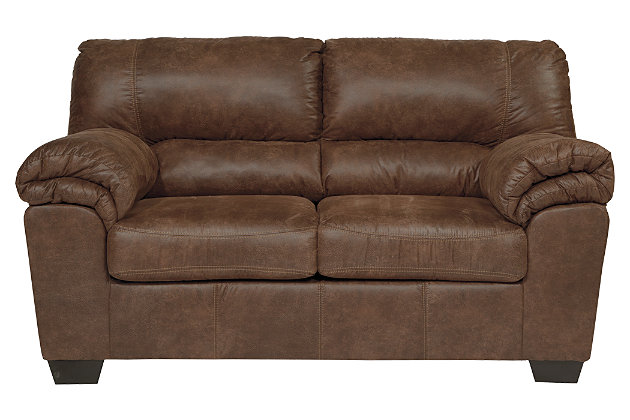 Bladen Loveseat, Coffee, large