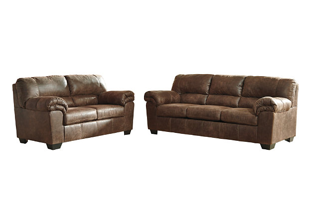 Bladen Sofa and Loveseat, Coffee, large