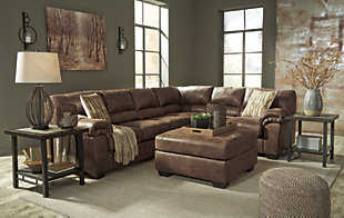 Bladen 3-Piece Sectional, Coffee, large