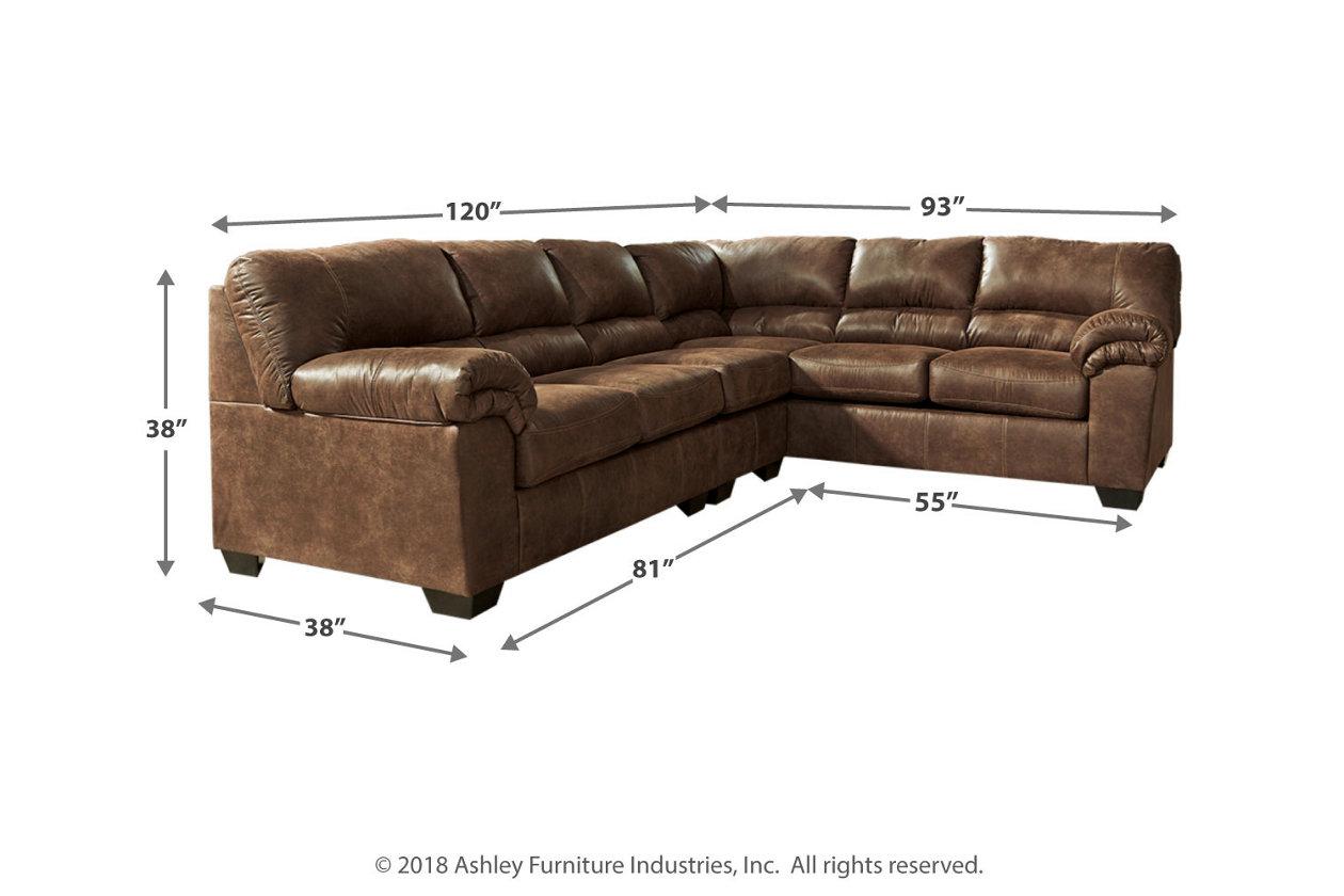 Bladen 3-Piece Sectional | Ashley Furniture HomeStore