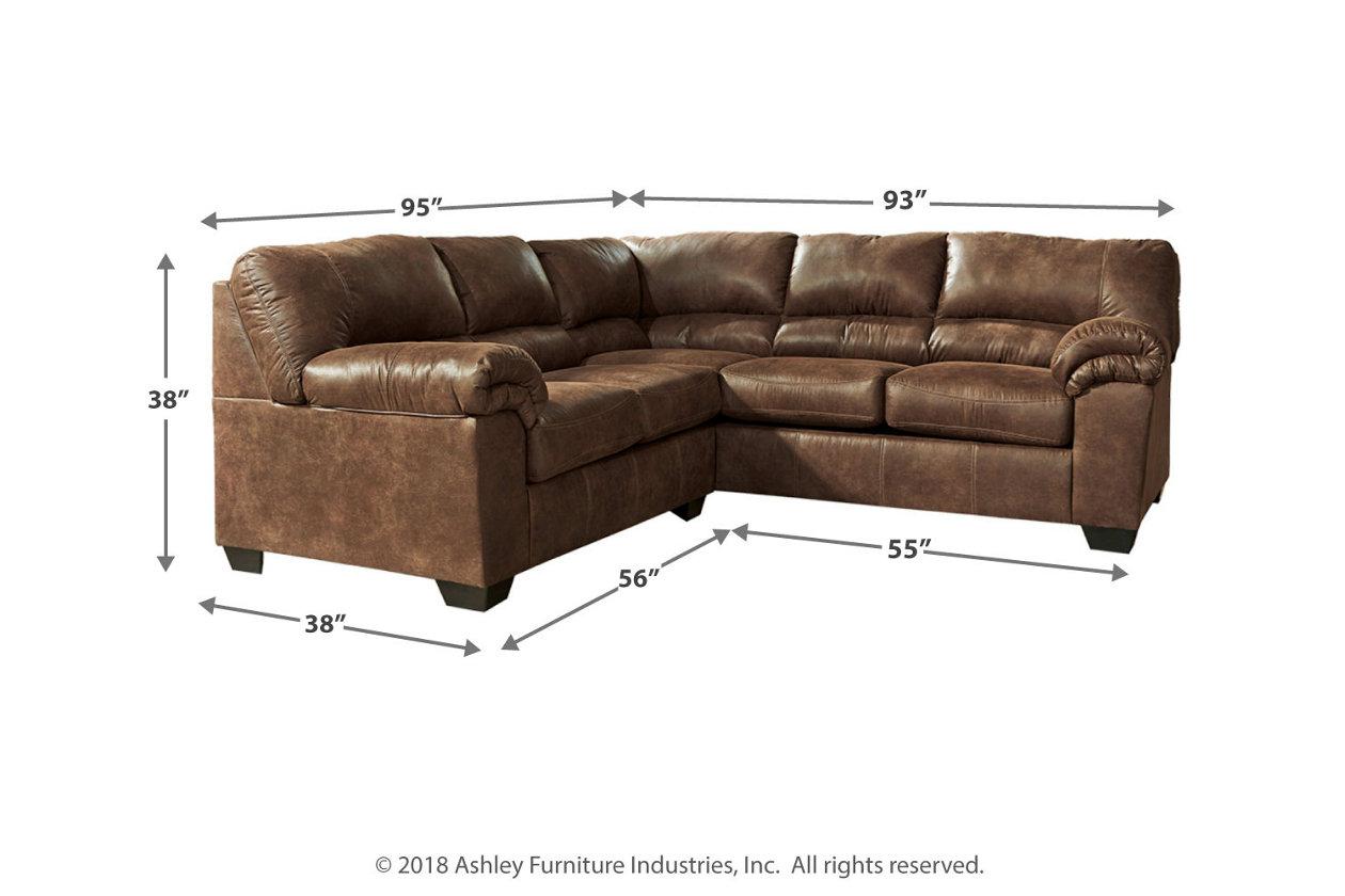 Strange Bladen 2 Piece Sectional Ashley Furniture Homestore Machost Co Dining Chair Design Ideas Machostcouk