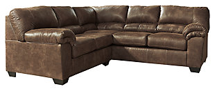 Bladen 2-Piece Sectional, Coffee, large