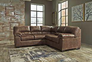 Large Bladen 2 Piece Sectional Coffee Rollover
