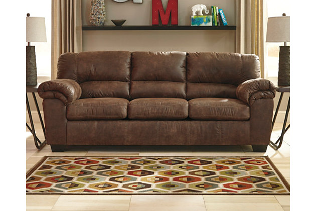 Bladen Full Sofa Sleeper by Ashley HomeStore, Brown, Polyester