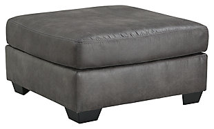 Bladen 3-Piece Sectional with Ottoman, Slate, large