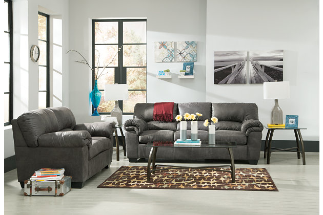 Bladen Full Sofa Sleeper, Slate, large