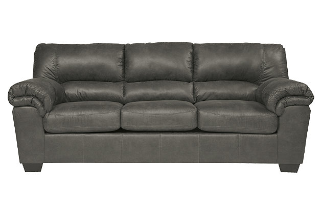 Bladen Full Sofa Sleeper by Ashley HomeStore, Gray, Polyester