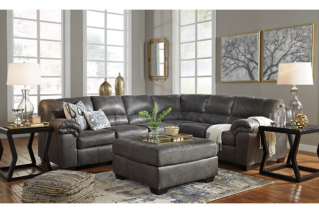Bladen 3-Piece Sectional, Slate, large