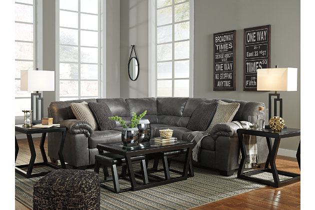 Bladen 2-Piece Sectional, Slate, large