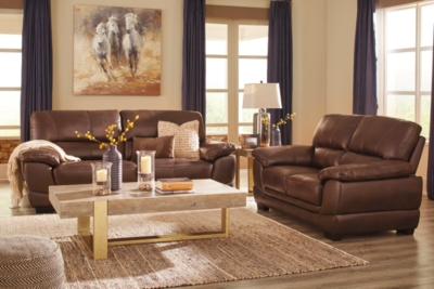 Chocolate Leather Sofa Product Photo 734