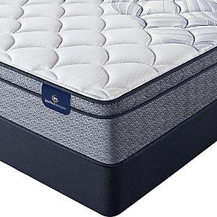 Serta Perfect Sleeper Twin Foundation, Blue, rollover